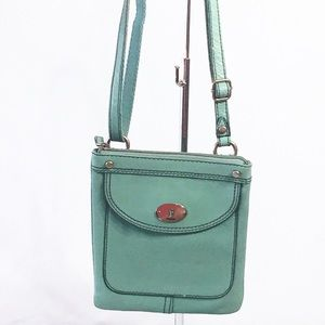 Fossil Mini Maddox Mint Crossbody